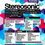 Stereosonic Line-up