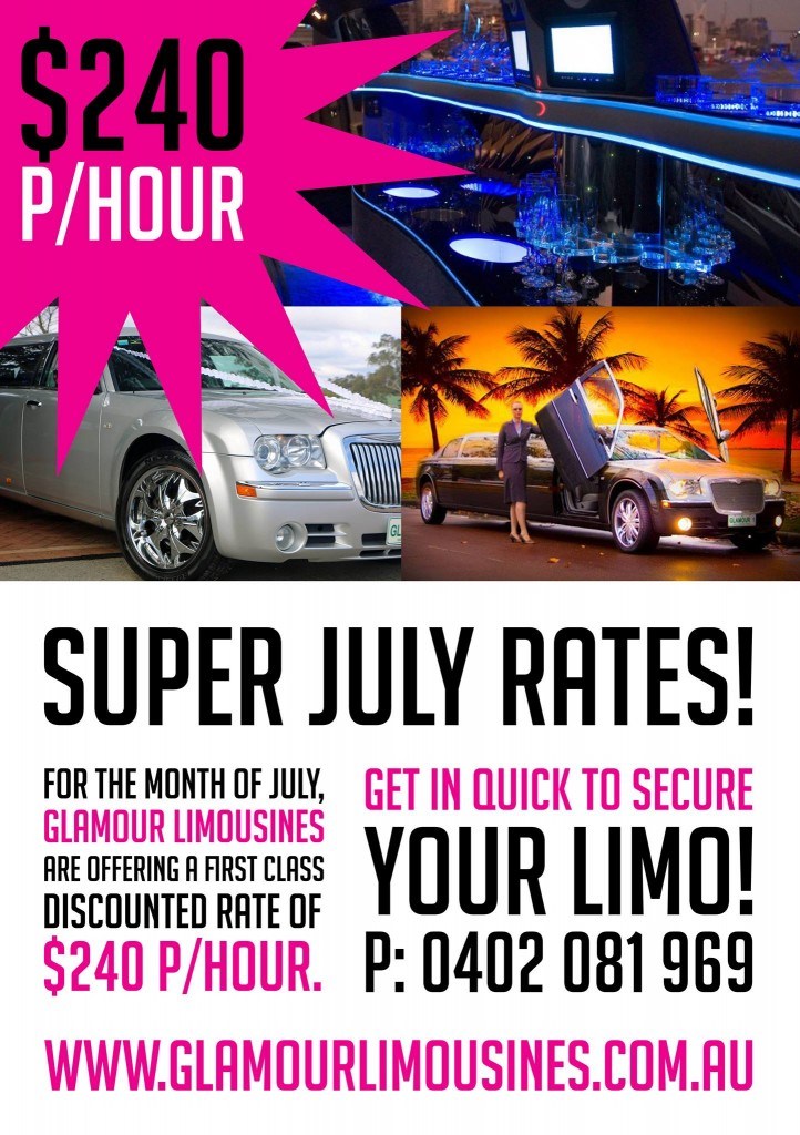 LIMO HIRE PERTH, SPECIAL WINTER RATES